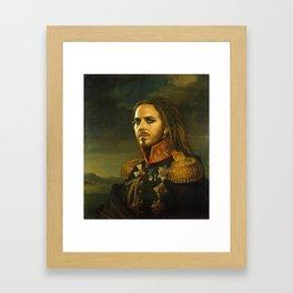 Tim Minchin - replaceface Framed Art Print