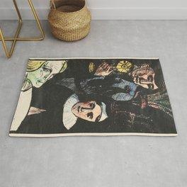 Emile Bernard - The Old Woman from Berkeley - Digital Remastered Edition Rug
