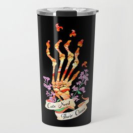 Cats Need Their Claws Travel Mug