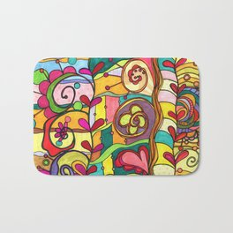 Land of Love and Color Bath Mat