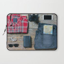 Get ready for the trip. Man edition Laptop Sleeve
