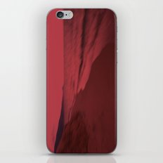 Dreamscape red iPhone & iPod Skin