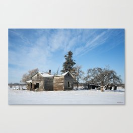 Grasslands's Farm 1 Canvas Print