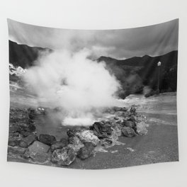 Hot spring Wall Tapestry