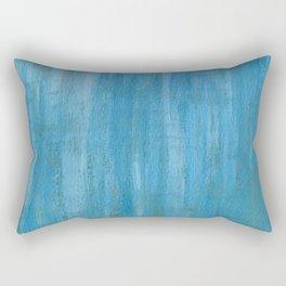 Blue Paint Rectangular Pillow