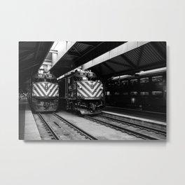 Trains 166 & 131 Metal Print