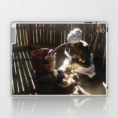 African slave sculpture in Arecibo Laptop & iPad Skin
