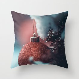 The Ornament (Color) Throw Pillow