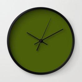 Algae Wall Clock