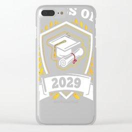 Class-of-2029---Class-of-2029-Graduation-T-Shirt---Sao-chép Clear iPhone Case