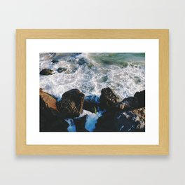 Ventura Beach Framed Art Print
