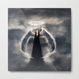 The Harbinger Declares Metal Print