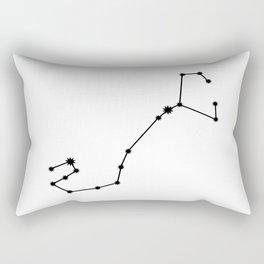 Scorpio Astrology Star Sign Minimal Rectangular Pillow