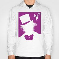 willy wonka Hoodies featuring Willy Wonka Tribute Poster by stefano manca
