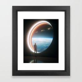 Phone Home Framed Art Print