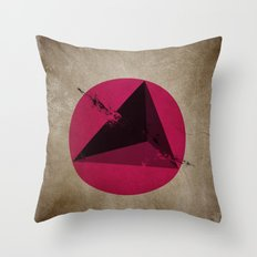 TETHRAEDON SUNSET Throw Pillow