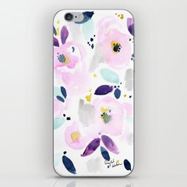Mystical Floral iPhone Skin