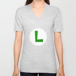 Nintendo Luigi Unisex V-Neck