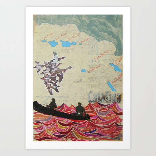 Channel Islands Art Print