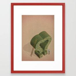 The Love gardener Framed Art Print