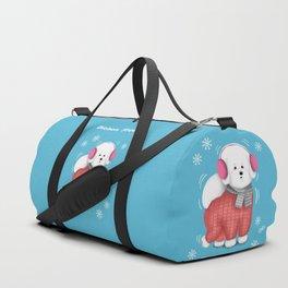 Bichon Freeze Duffle Bag