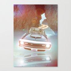 Art Print Daft Punk Flyin Car Canvas Print