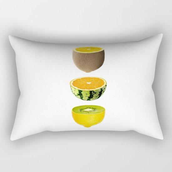 Mixed Fruits Rectangular Pillow