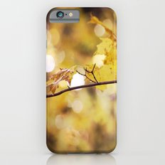Amber Droplets iPhone 6s Slim Case