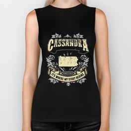 Cassandra Pennsylvania it is where my story begins grandma Biker Tank