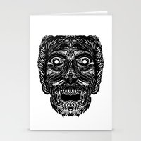 dracula Stationery Cards featuring Dracula by Jamie Bryan