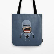 Screaming Robocop Tote Bag