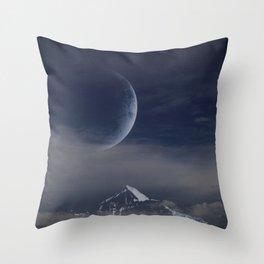The last moonlight Throw Pillow