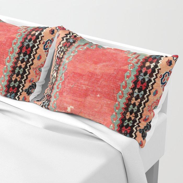 Sivas  Antique Cappadocian Turkish Niche Kilim Print Pillow Sham