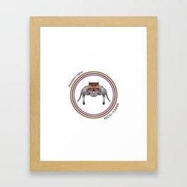 Regal Jumper Framed Art Print