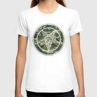 pentagram T-shirts featuring Pentagram Camo by Parin Cashmony