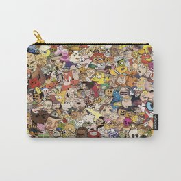 Cartoon Collage Carry-All Pouch