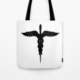 Caduceus Medical Symbol Isolated Tote Bag