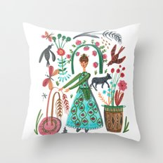Autumn Love Throw Pillow