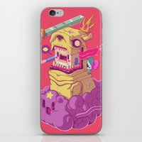 finn and jake iPhone & iPod Skins featuring Finn and Jake by Mike Wrobel