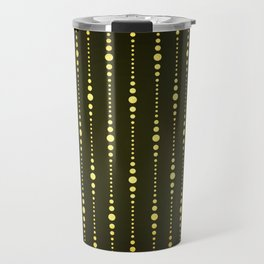 Art Deco Le Carnaval Pattern Travel Mug