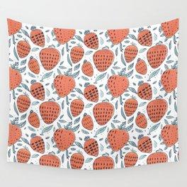 strawberrys Wall Tapestry