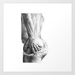 Gonza - NOODDOOD Art Print