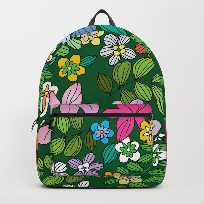 Flowers XIII Backpack
