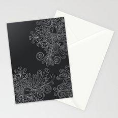 Phoenix Motif Stationery Cards
