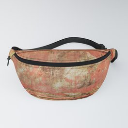 Red Panel Fanny Pack