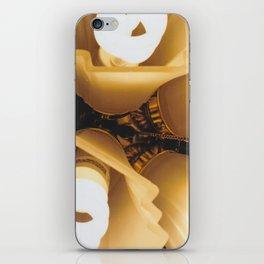 Close Up Light-Film Camera iPhone Skin
