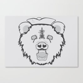 Pirate Bear Canvas Print