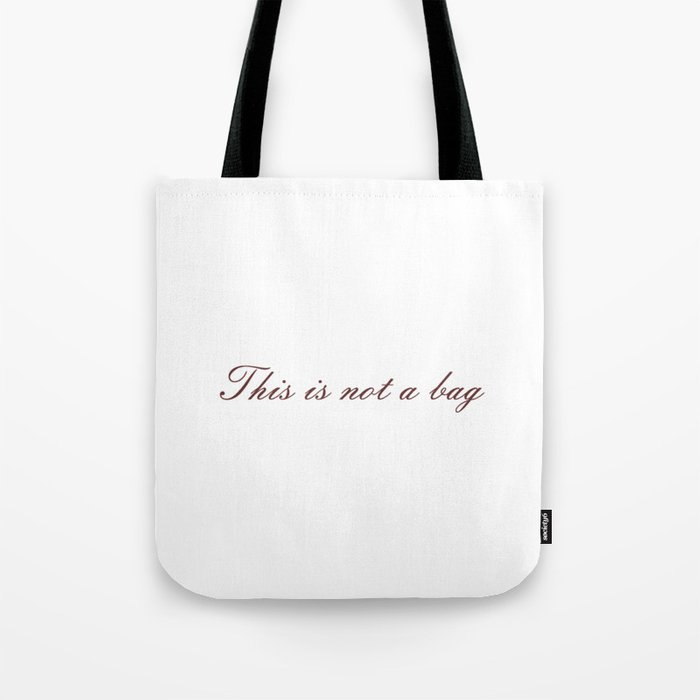 Rene Magritte: This is not a Tote Bag