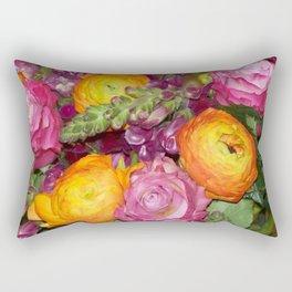Annas Flowers II Rectangular Pillow