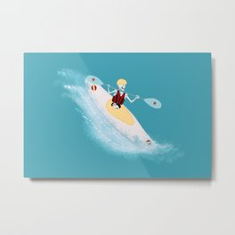 Whitewater Willy Metal Print